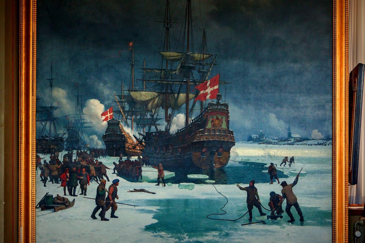 丹麥腓特烈堡城堡,油畫里的故事_圖1-15