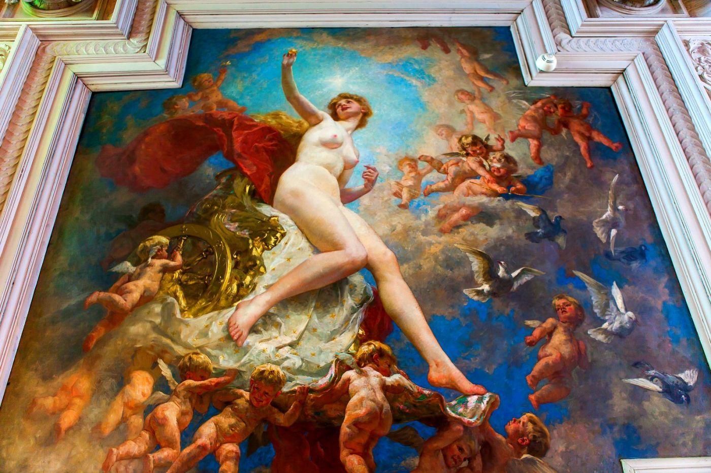 丹麥腓特烈堡城堡,油畫里的故事_圖1-11