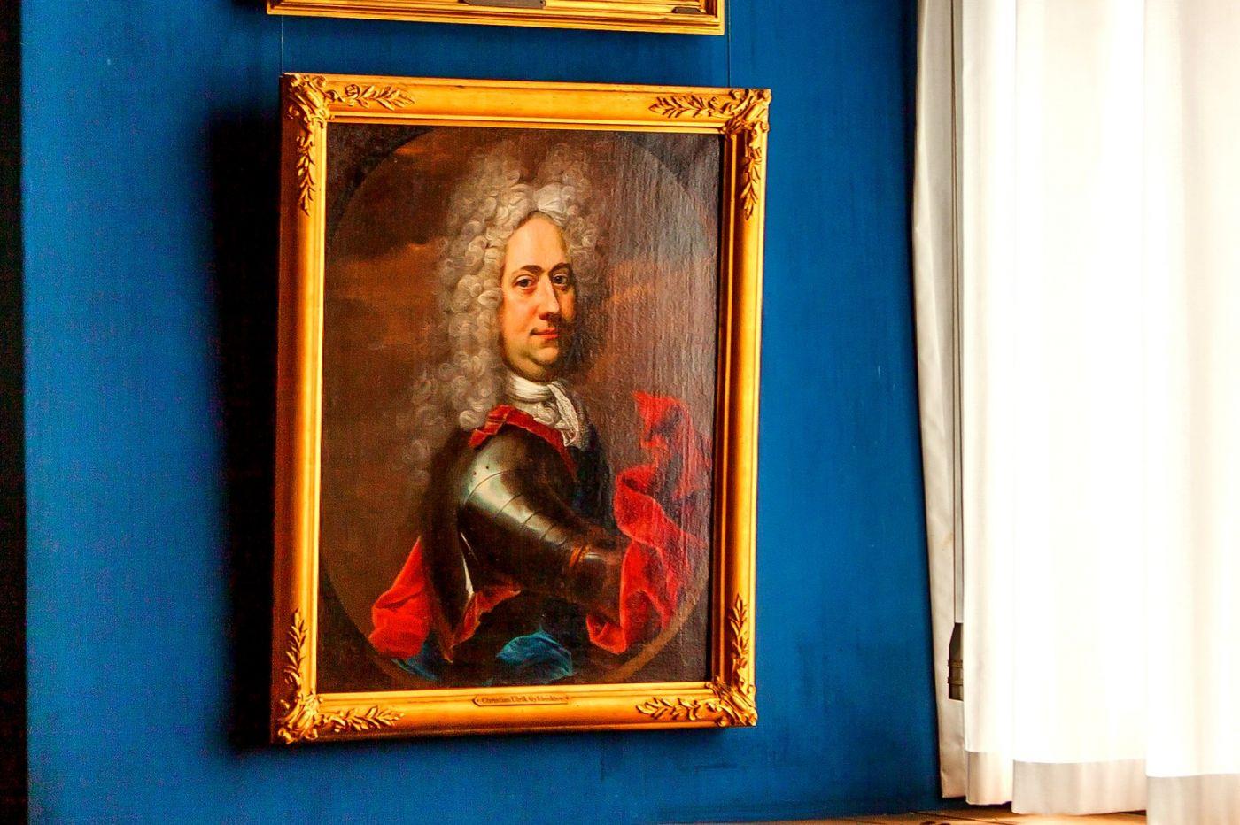 丹麥腓特烈堡城堡,油畫里的故事_圖1-10