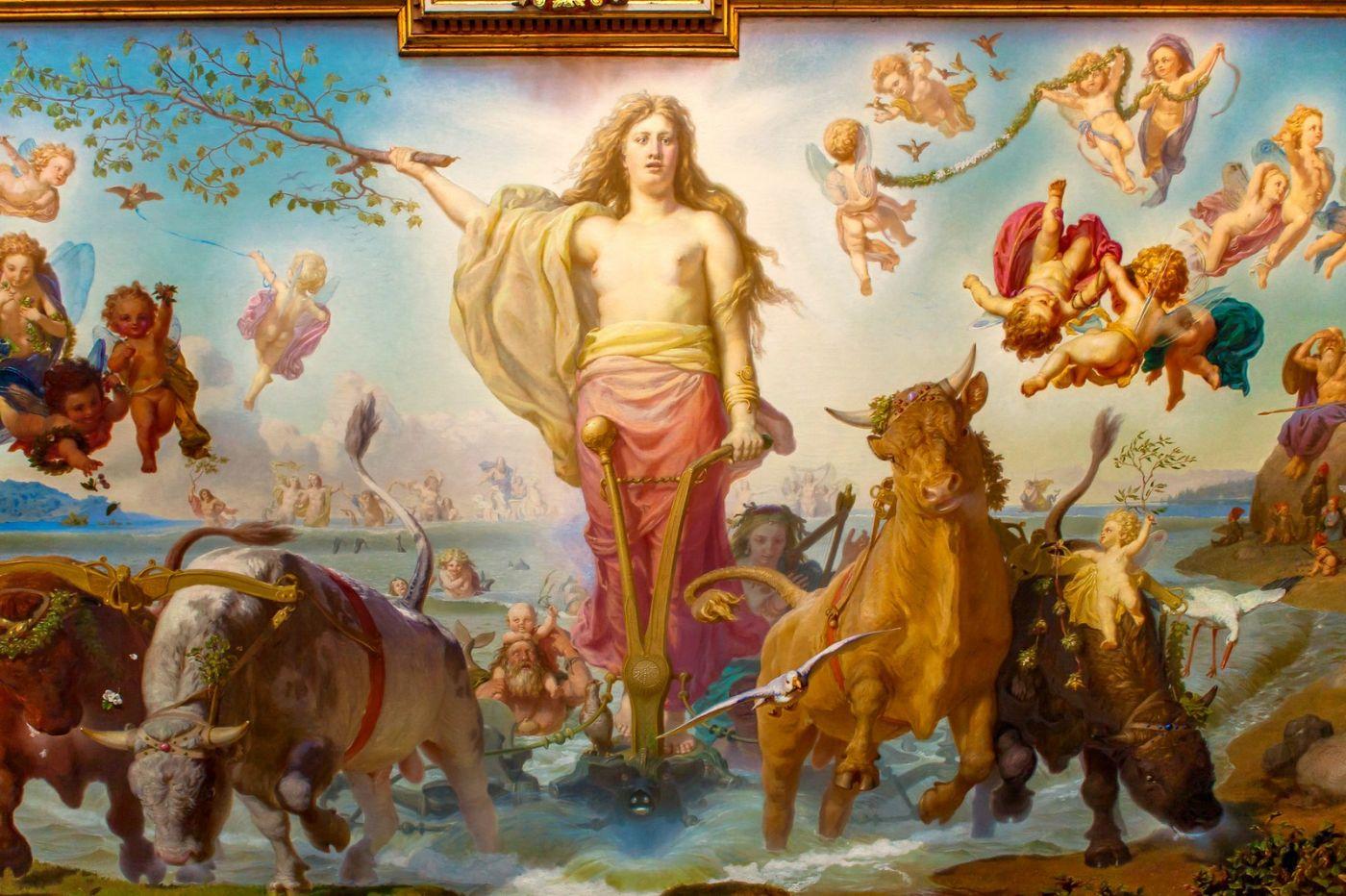 丹麥腓特烈堡城堡,油畫里的故事_圖1-9