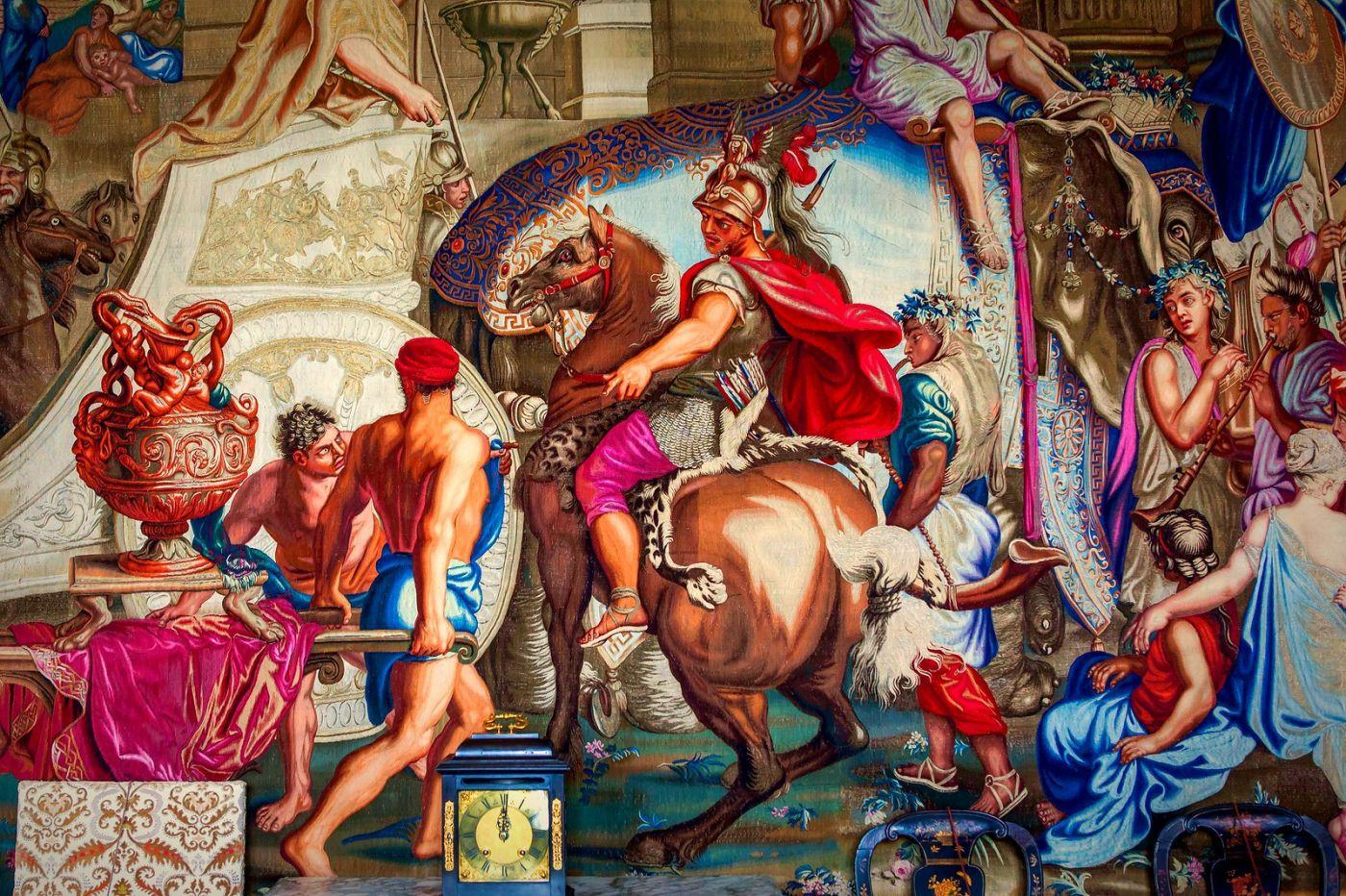 丹麥腓特烈堡城堡,油畫里的故事_圖1-8