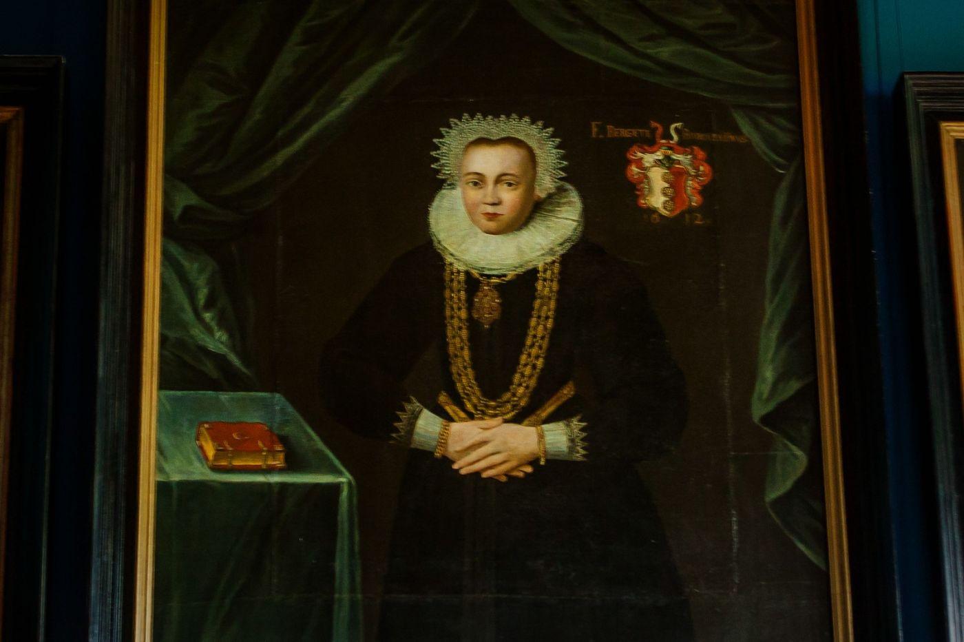 丹麥腓特烈堡城堡,油畫里的故事_圖1-4
