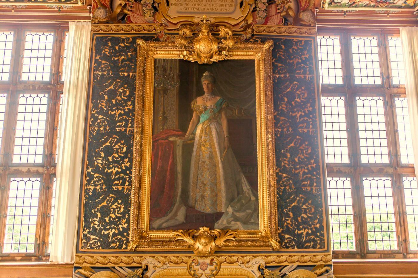 丹麥腓特烈堡城堡,油畫里的故事_圖1-6