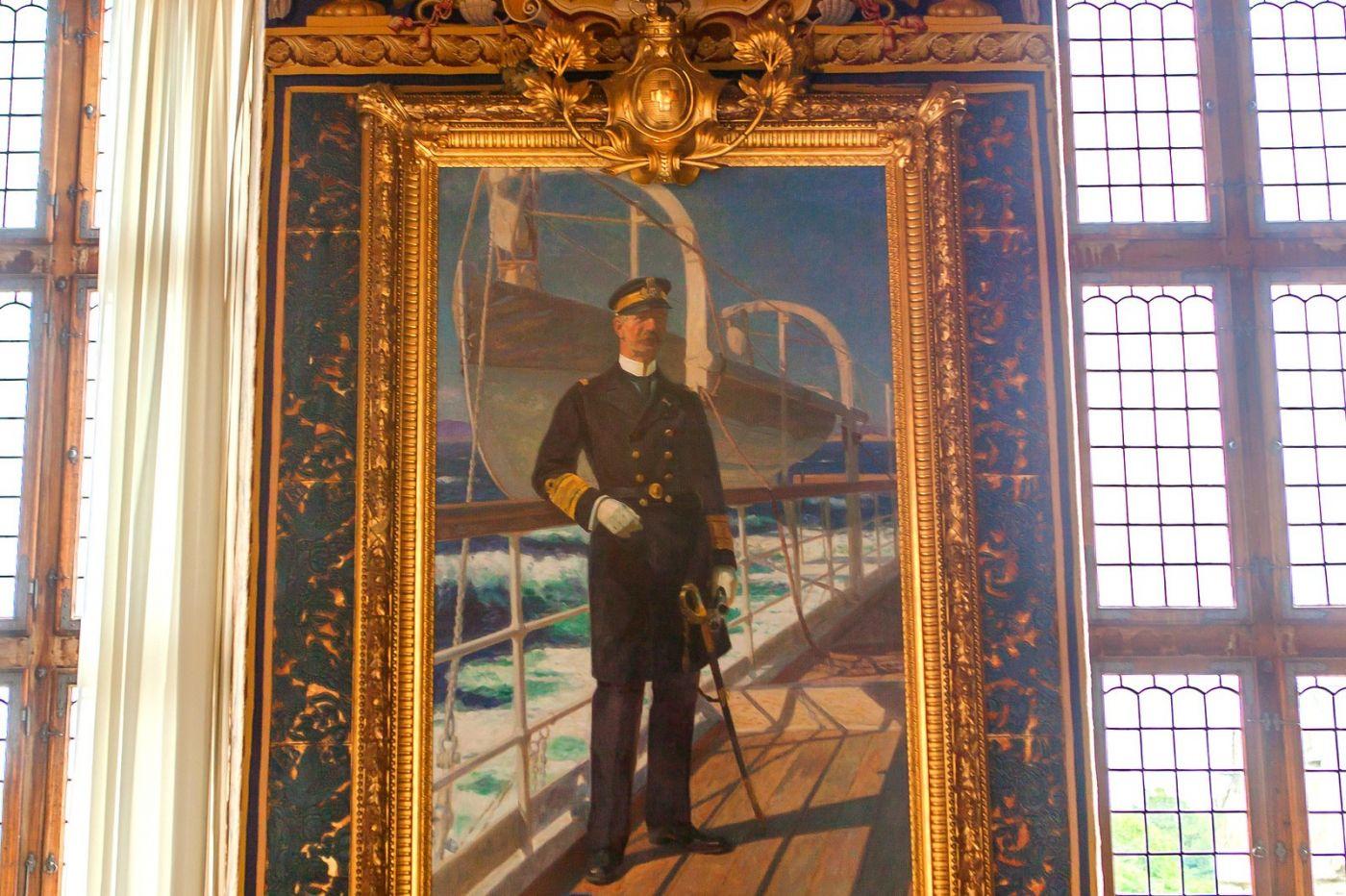 丹麥腓特烈堡城堡,油畫里的故事_圖1-7
