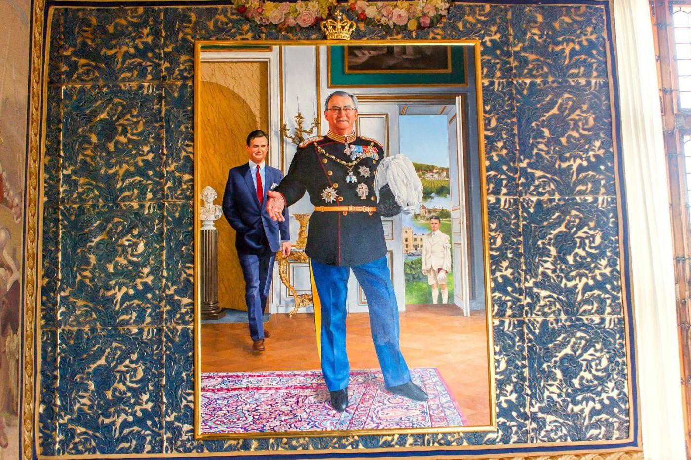 丹麥腓特烈堡城堡,油畫里的故事_圖1-3