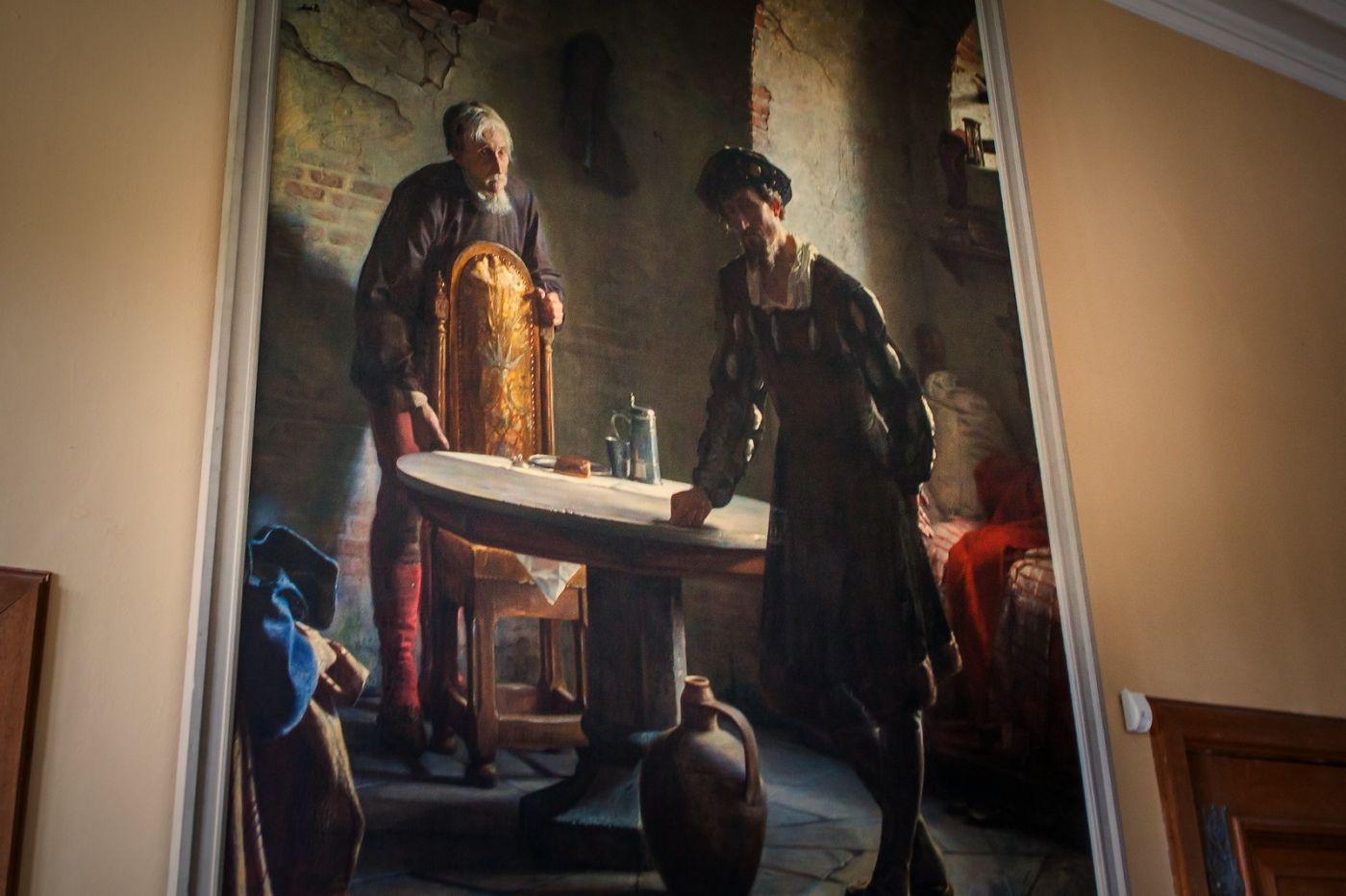 丹麥腓特烈堡城堡,油畫里的故事_圖1-2