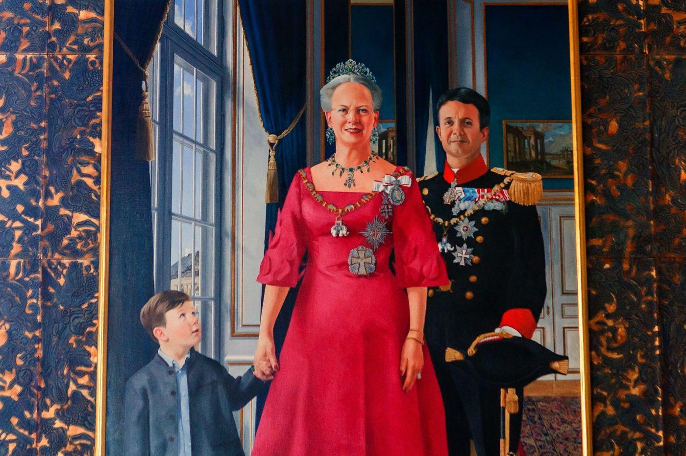 丹麥腓特烈堡城堡,油畫里的故事_圖1-1