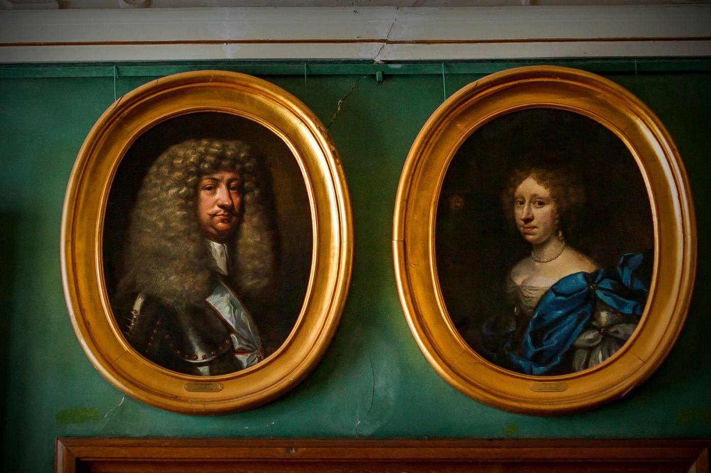 丹麥腓特烈堡城堡,油畫里的故事_圖1-20