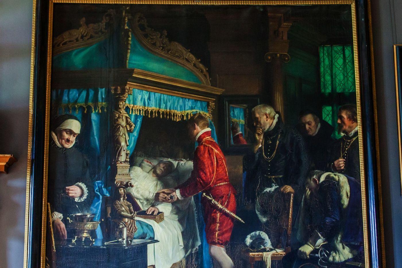 丹麥腓特烈堡城堡,油畫里的故事_圖1-19