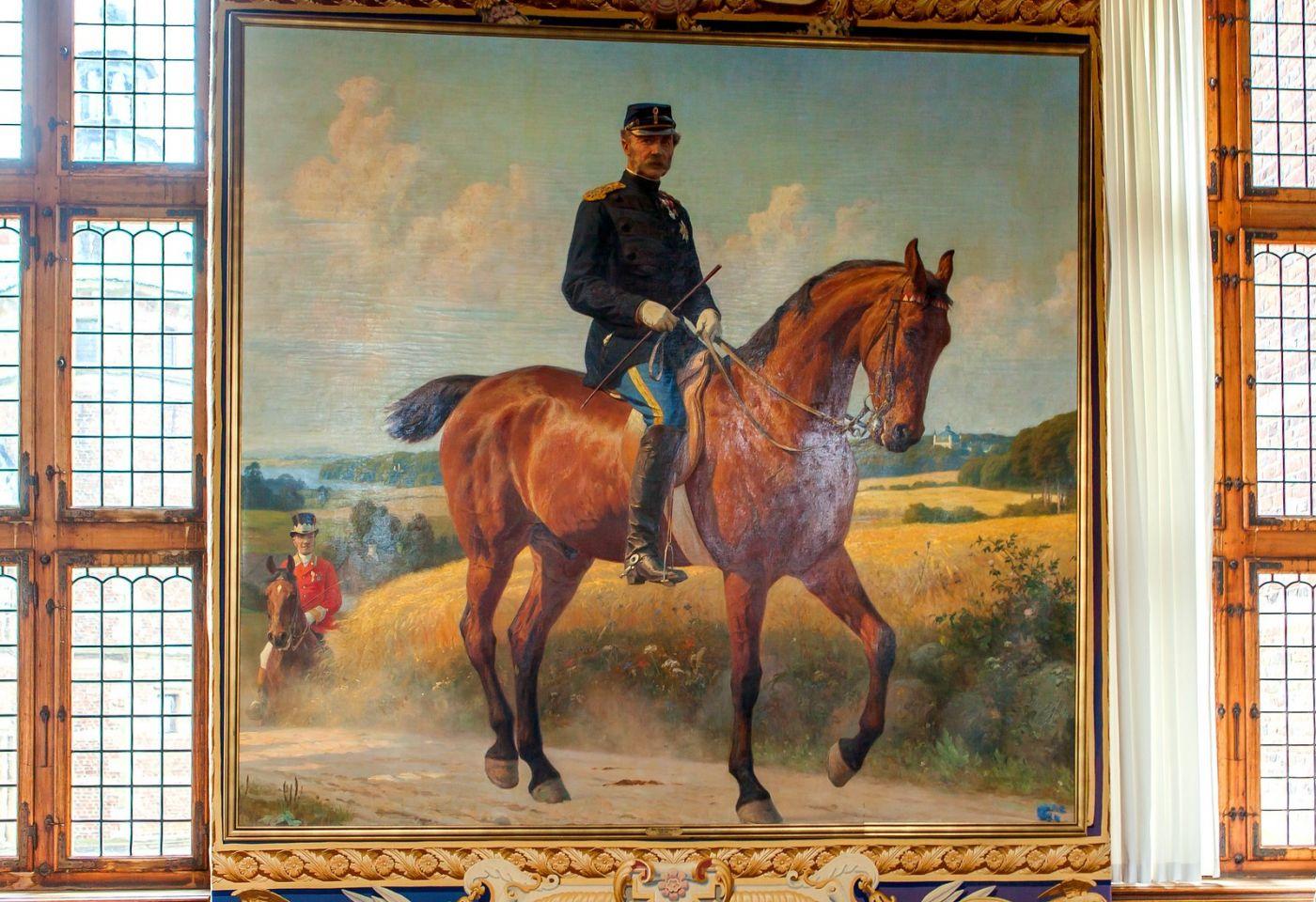 丹麥腓特烈堡城堡,油畫里的故事_圖1-18