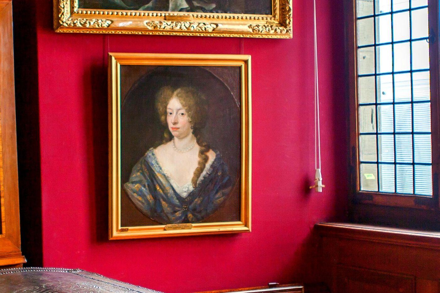 丹麥腓特烈堡城堡,油畫里的故事_圖1-21