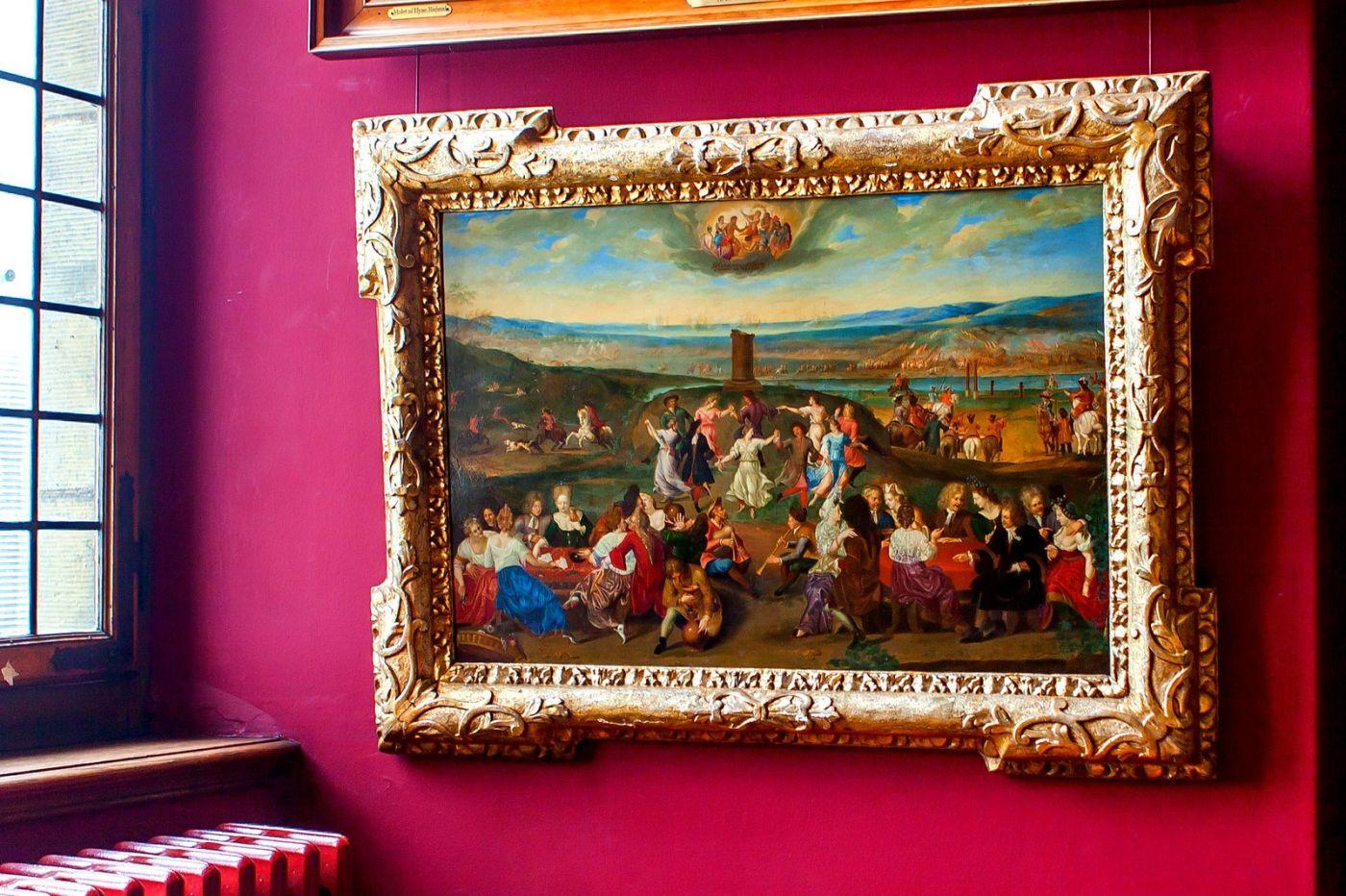丹麥腓特烈堡城堡,油畫里的故事_圖1-23
