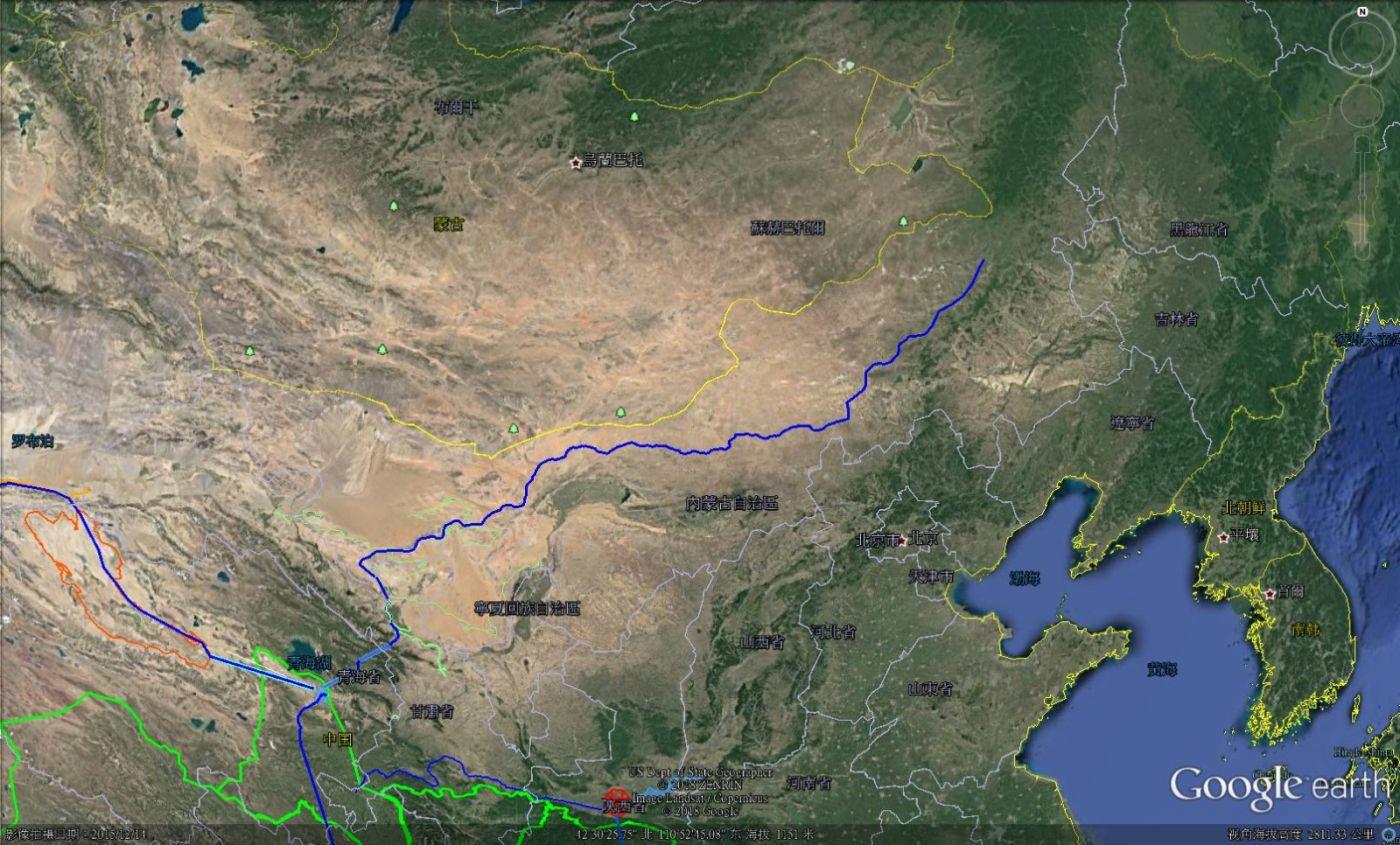 内蒙无沙,北京将少有沙尘天气——内蒙供水图_图1-1