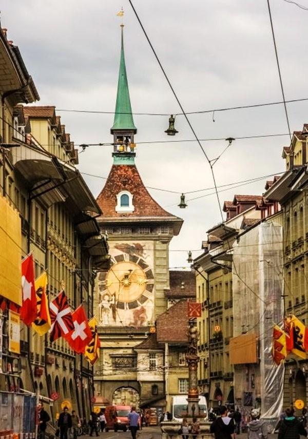 伯尔尼---瑞士的老城首都_图1-1