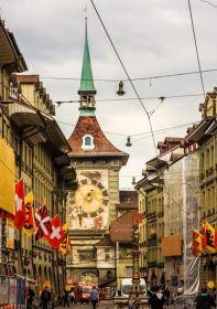 伯尔尼---瑞士的老城首都