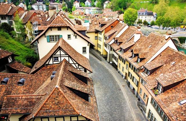 伯尔尼---瑞士的老城首都_图1-14