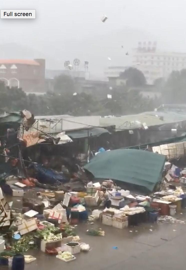 惨不忍睹:狂风袭击下的美国和香港_图1-6