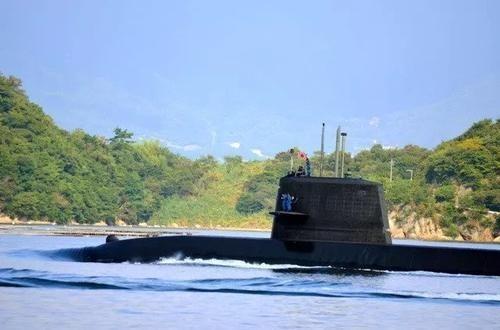 日本潜艇也悄悄来南海了_图1-2