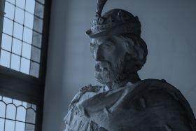 丹麦腓特烈堡城堡,琳琅满目的室内雕塑