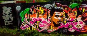丹麦哥本哈根,有趣的街头涂鸦