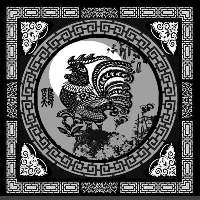 十二生肖剪纸图_图1-10