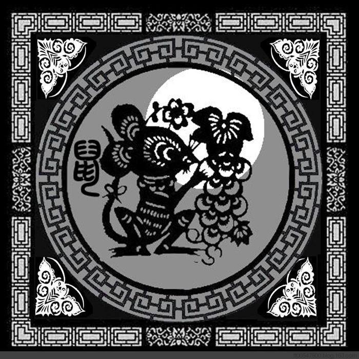 十二生肖剪纸图_图1-1