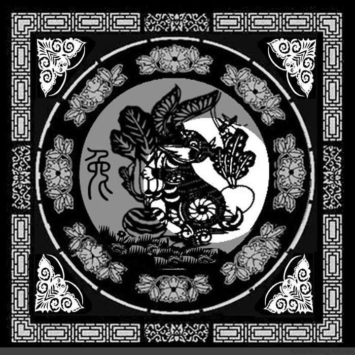 十二生肖剪纸图_图1-3