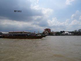 【青竹凌云】流淌温馨的湄南河(原创摄影)