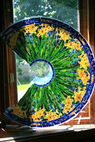 参观蒂芙尼工作室的玻璃灯具--