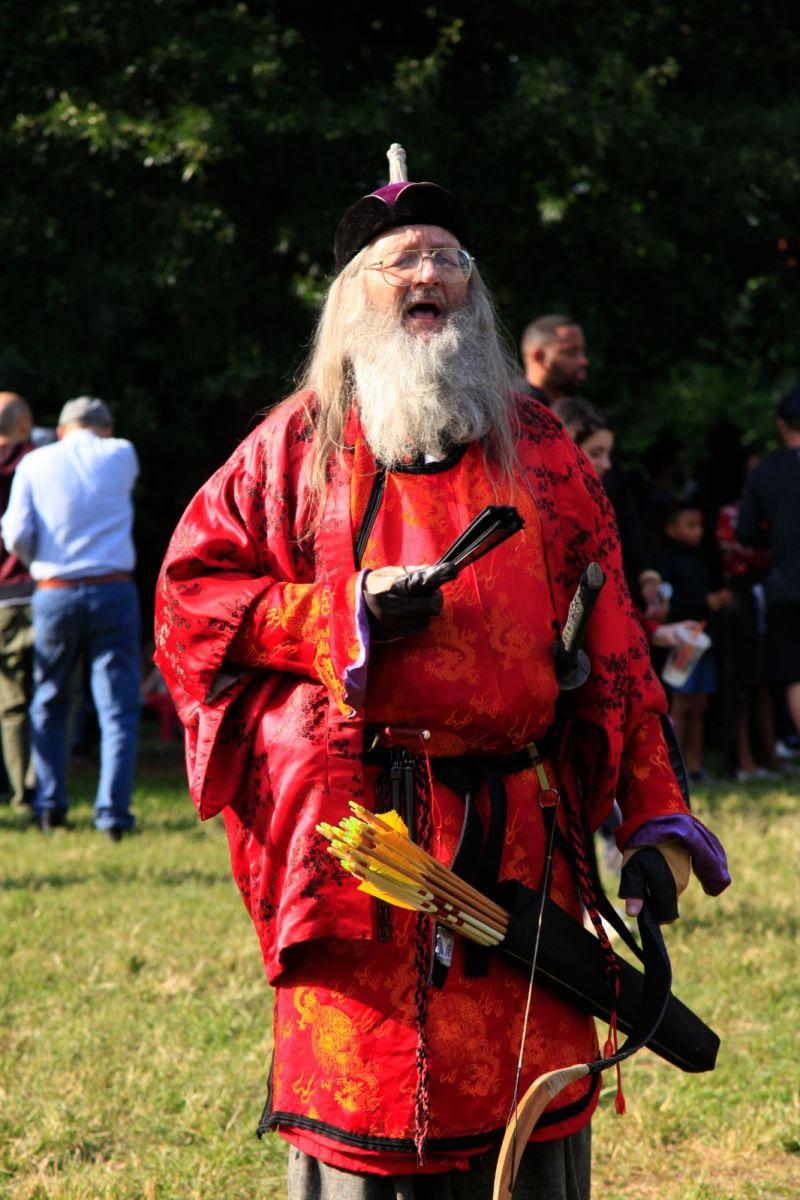 一年一度的崔恩堡公园中世纪节热闹非凡_图1-4