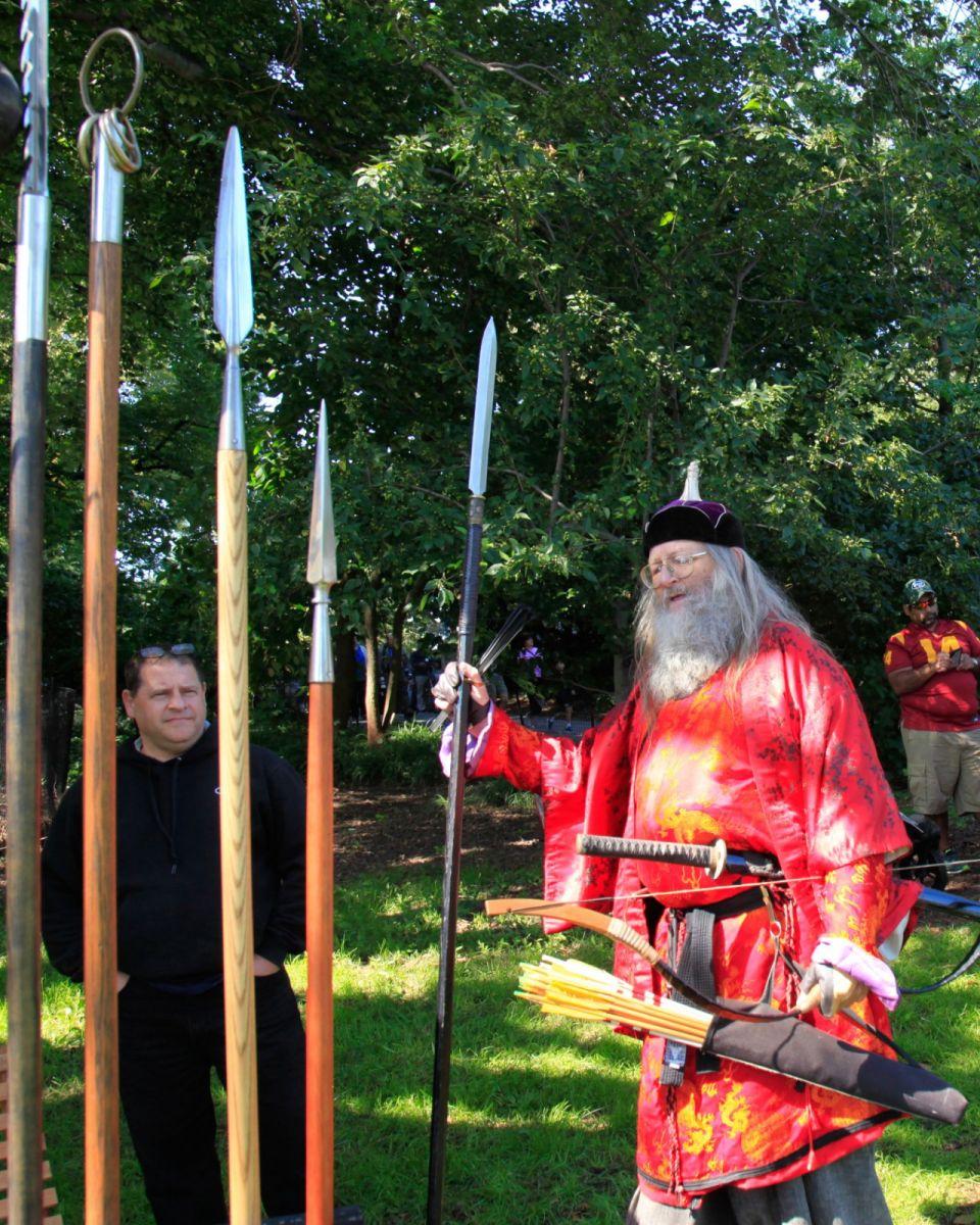 一年一度的崔恩堡公园中世纪节热闹非凡_图1-8