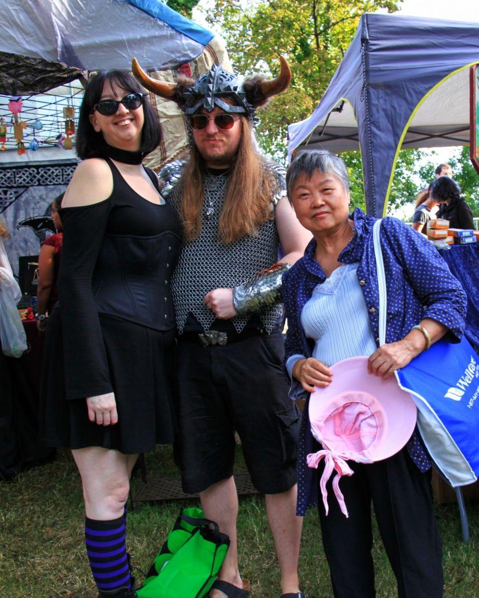 一年一度的崔恩堡公园中世纪节热闹非凡_图1-41