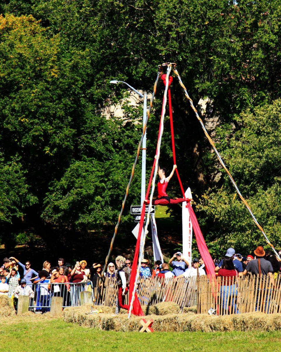 一年一度的崔恩堡公园中世纪节热闹非凡_图1-16