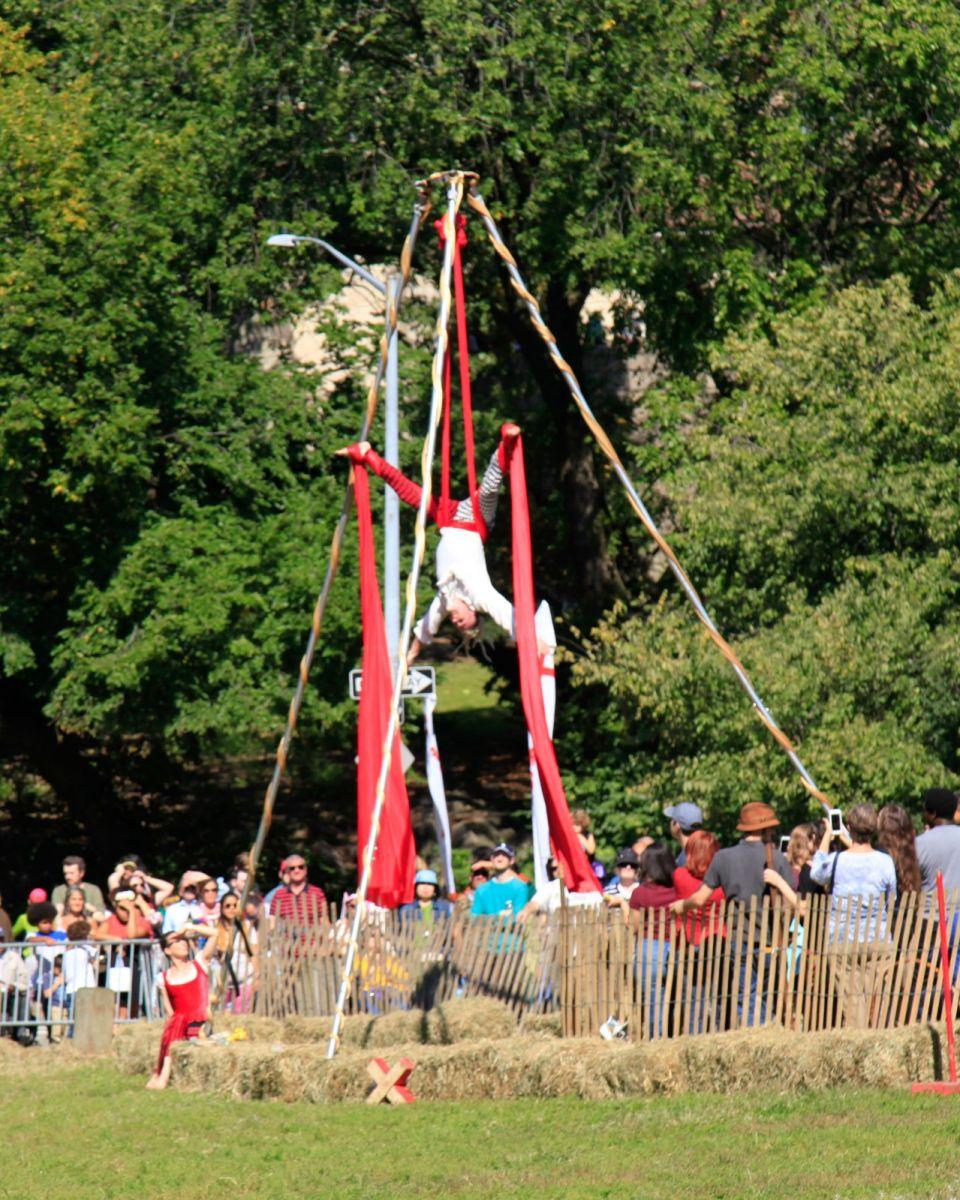 一年一度的崔恩堡公园中世纪节热闹非凡_图1-19