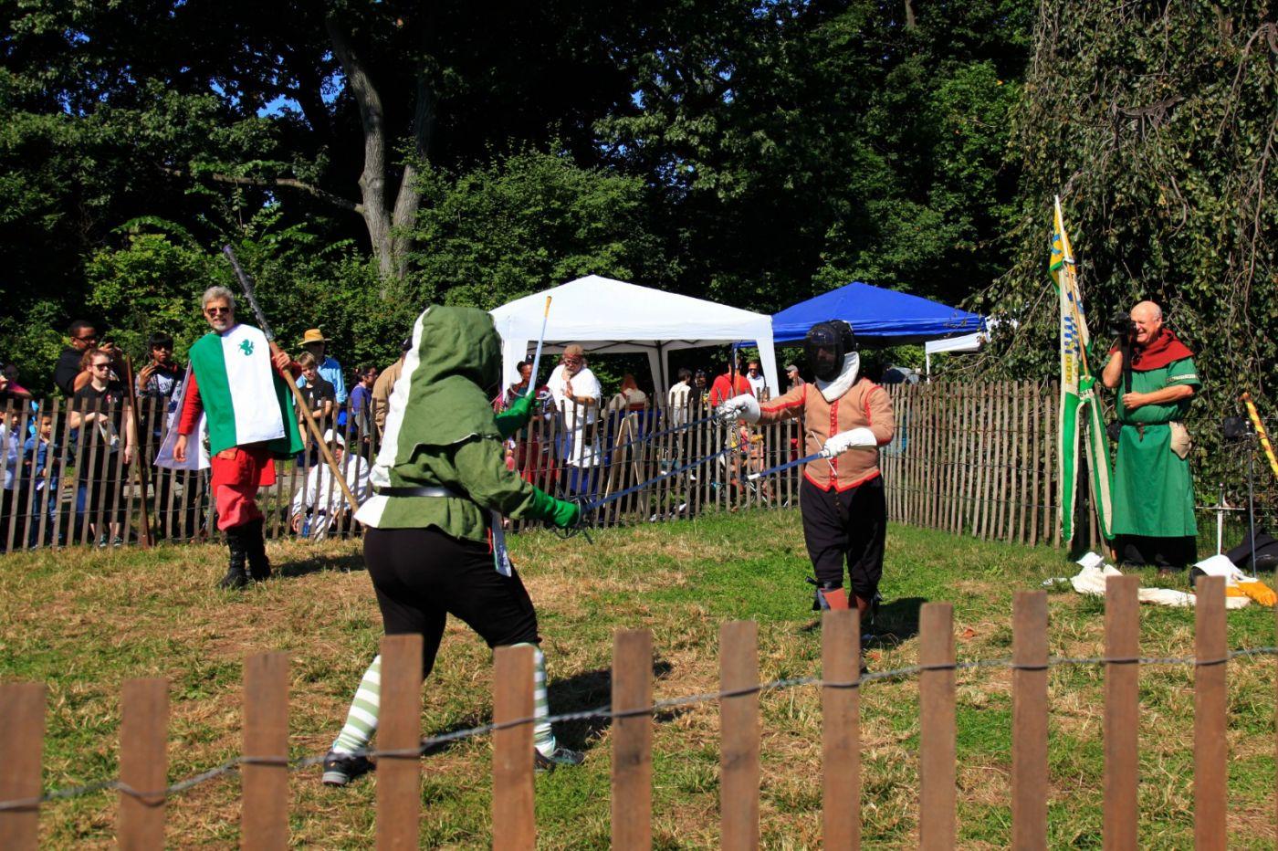 一年一度的崔恩堡公园中世纪节热闹非凡_图1-21