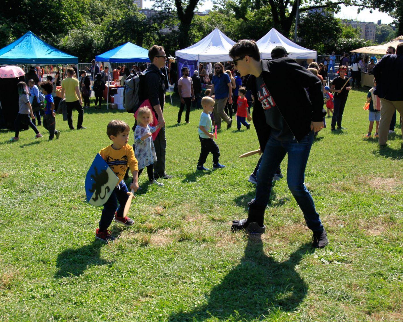 一年一度的崔恩堡公园中世纪节热闹非凡_图1-22