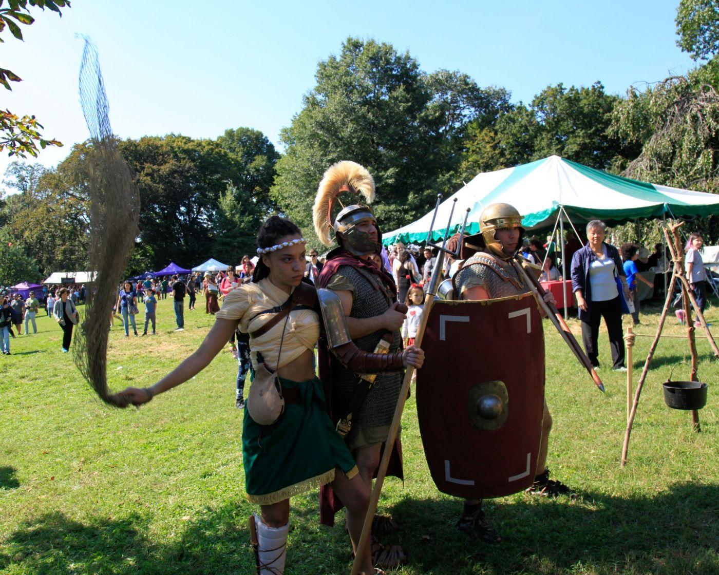 一年一度的崔恩堡公园中世纪节热闹非凡_图1-25
