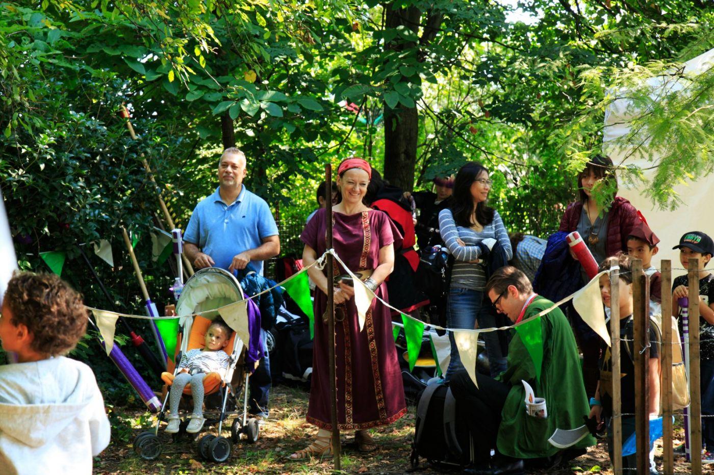 一年一度的崔恩堡公园中世纪节热闹非凡_图1-26
