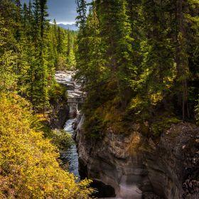 加拿大玛琳峡谷(Maligne Cany