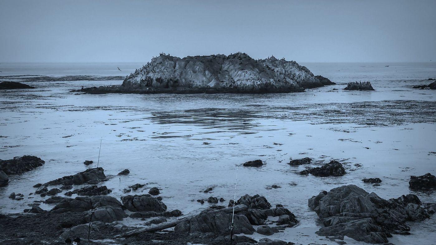 加州17英里,海边的奇形礁石_图1-7