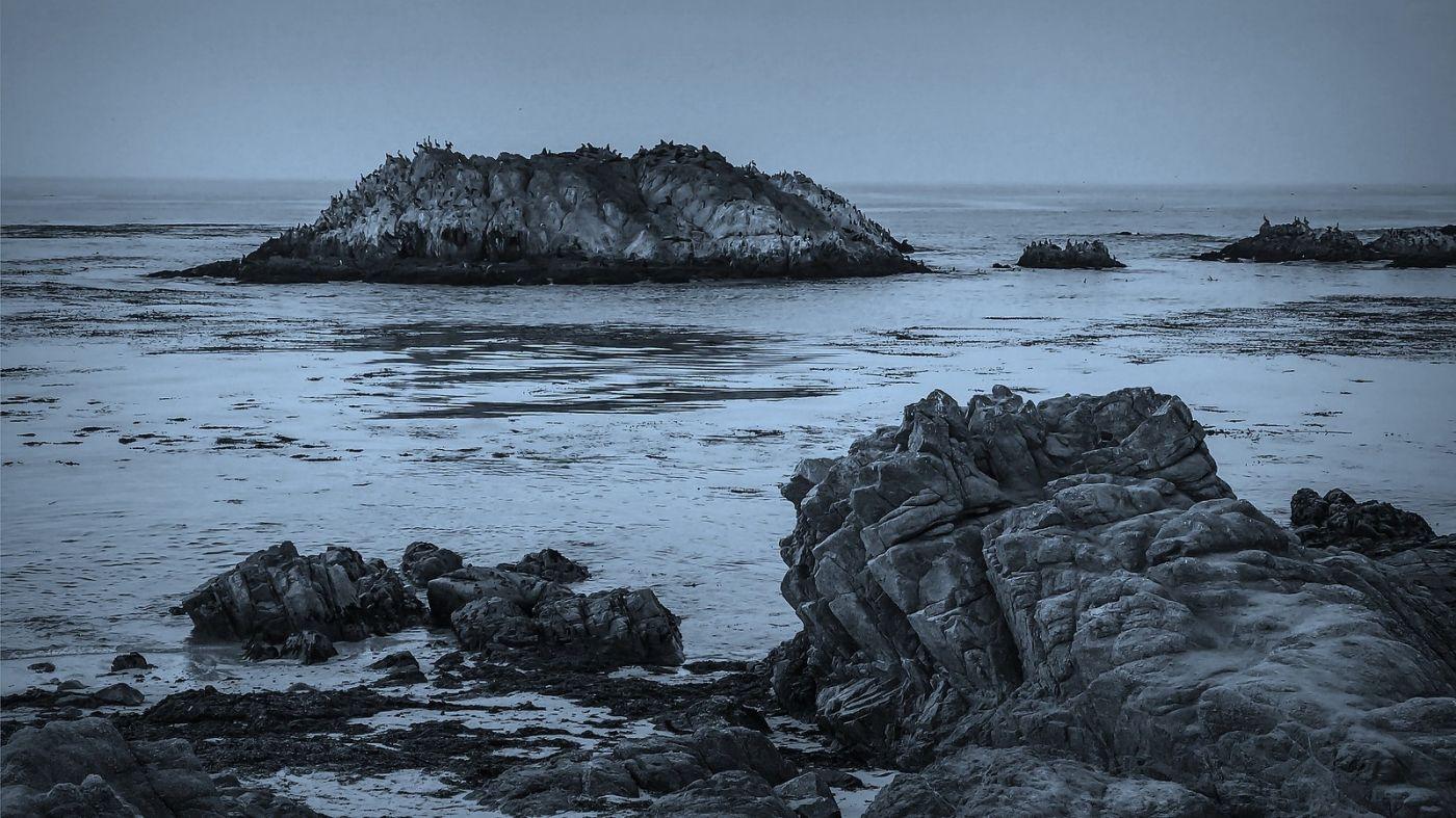 加州17英里,海边的奇形礁石_图1-6