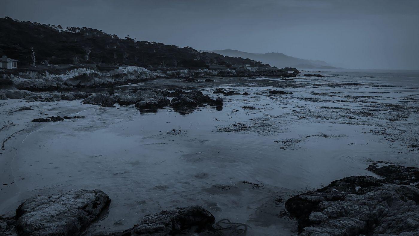 加州17英里,海边的奇形礁石_图1-5