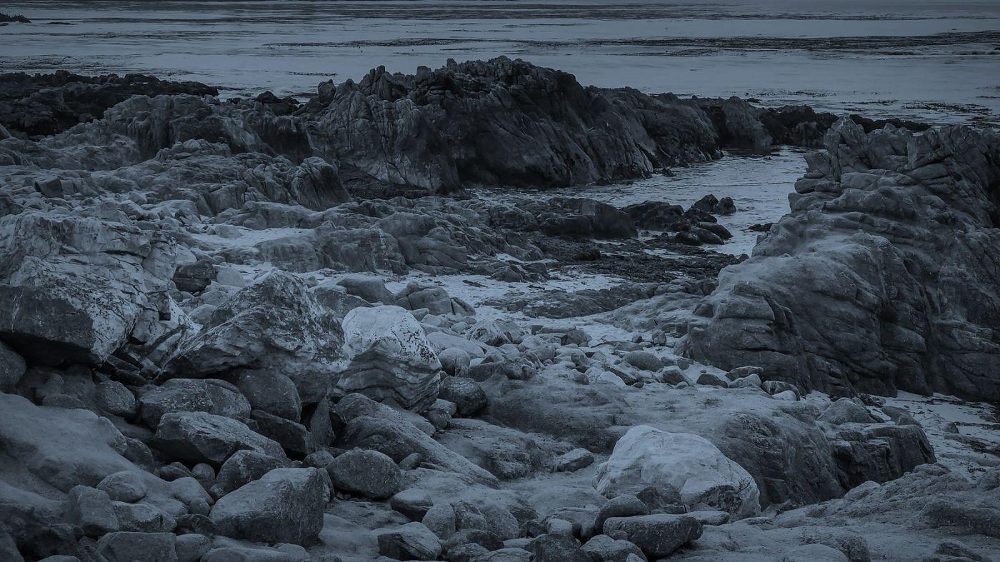 加州17英里,海边的奇形礁石_图1-3