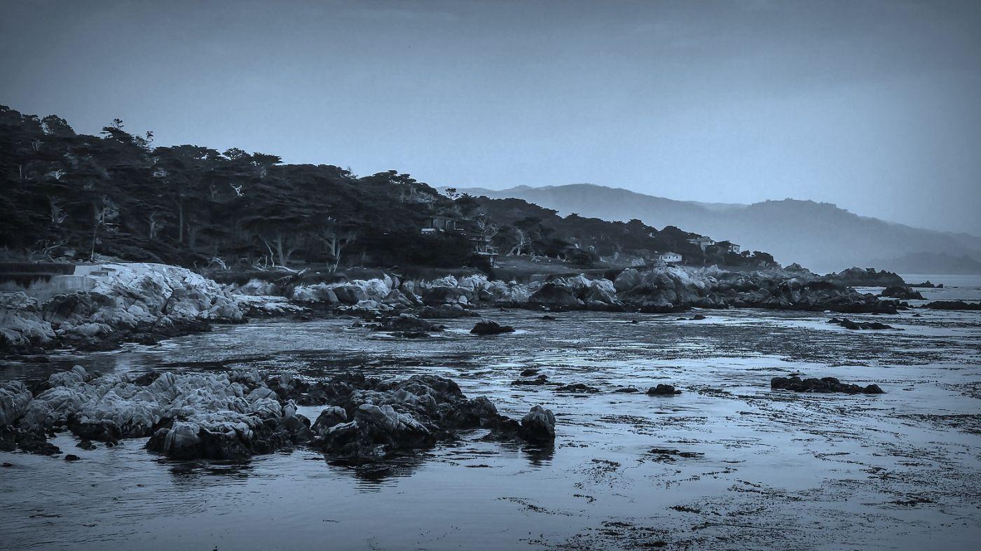 加州17英里,海边的奇形礁石_图1-4
