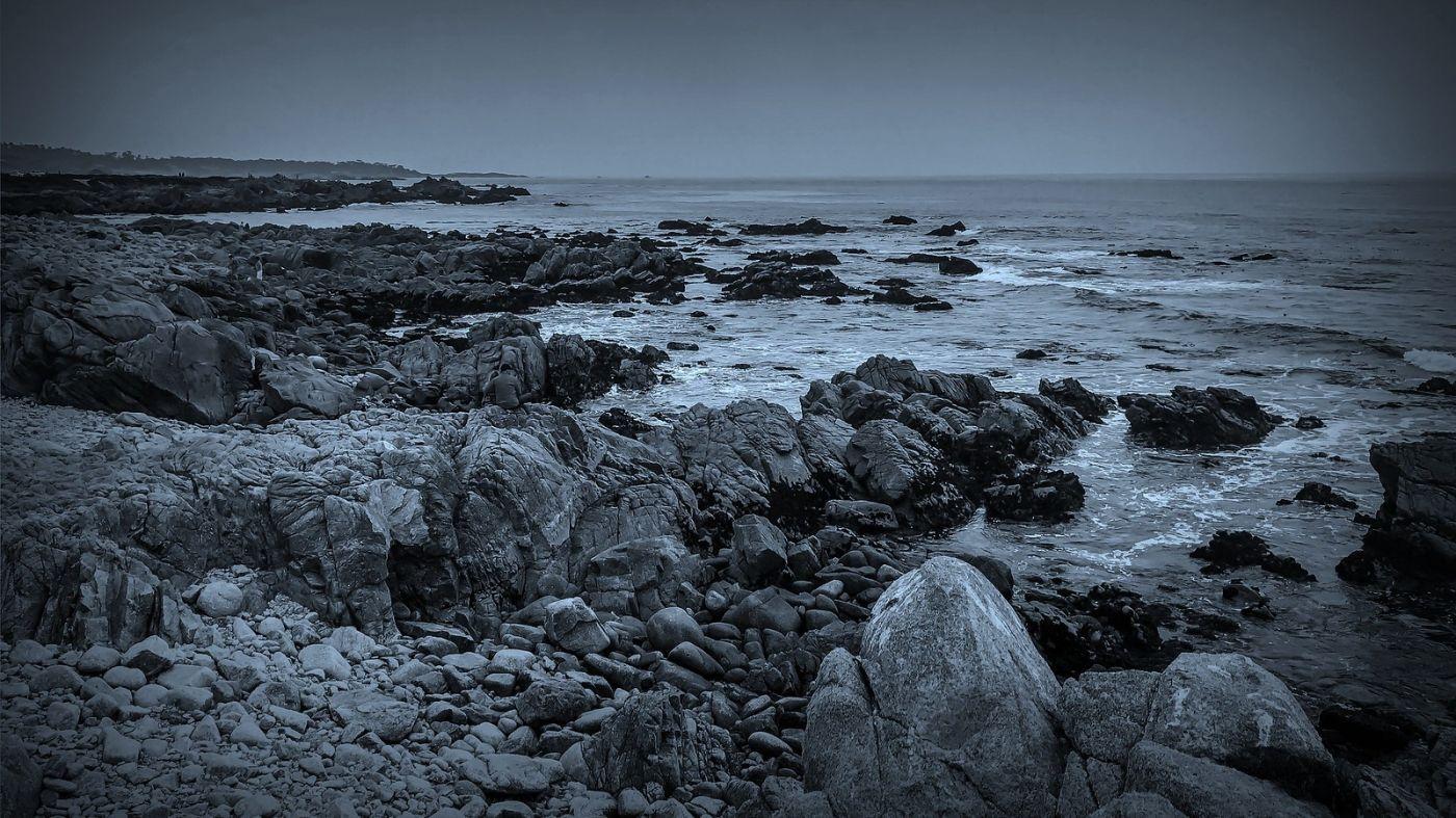 加州17英里,海边的奇形礁石_图1-1
