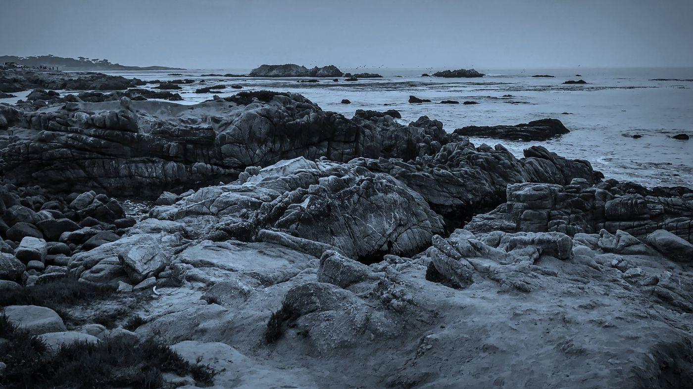 加州17英里,海边的奇形礁石_图1-9