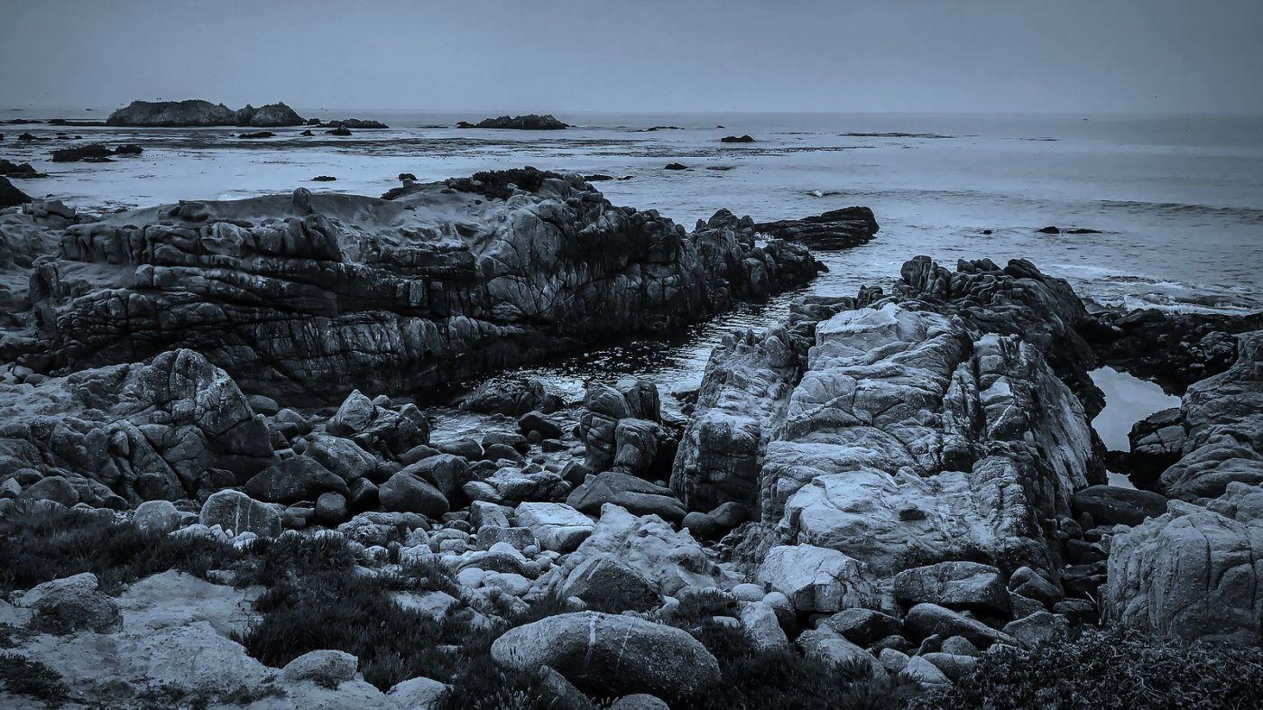 加州17英里,海边的奇形礁石_图1-10