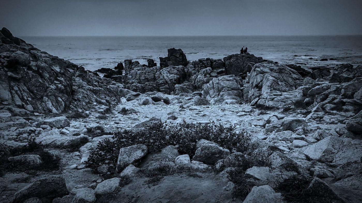 加州17英里,海边的奇形礁石_图1-11