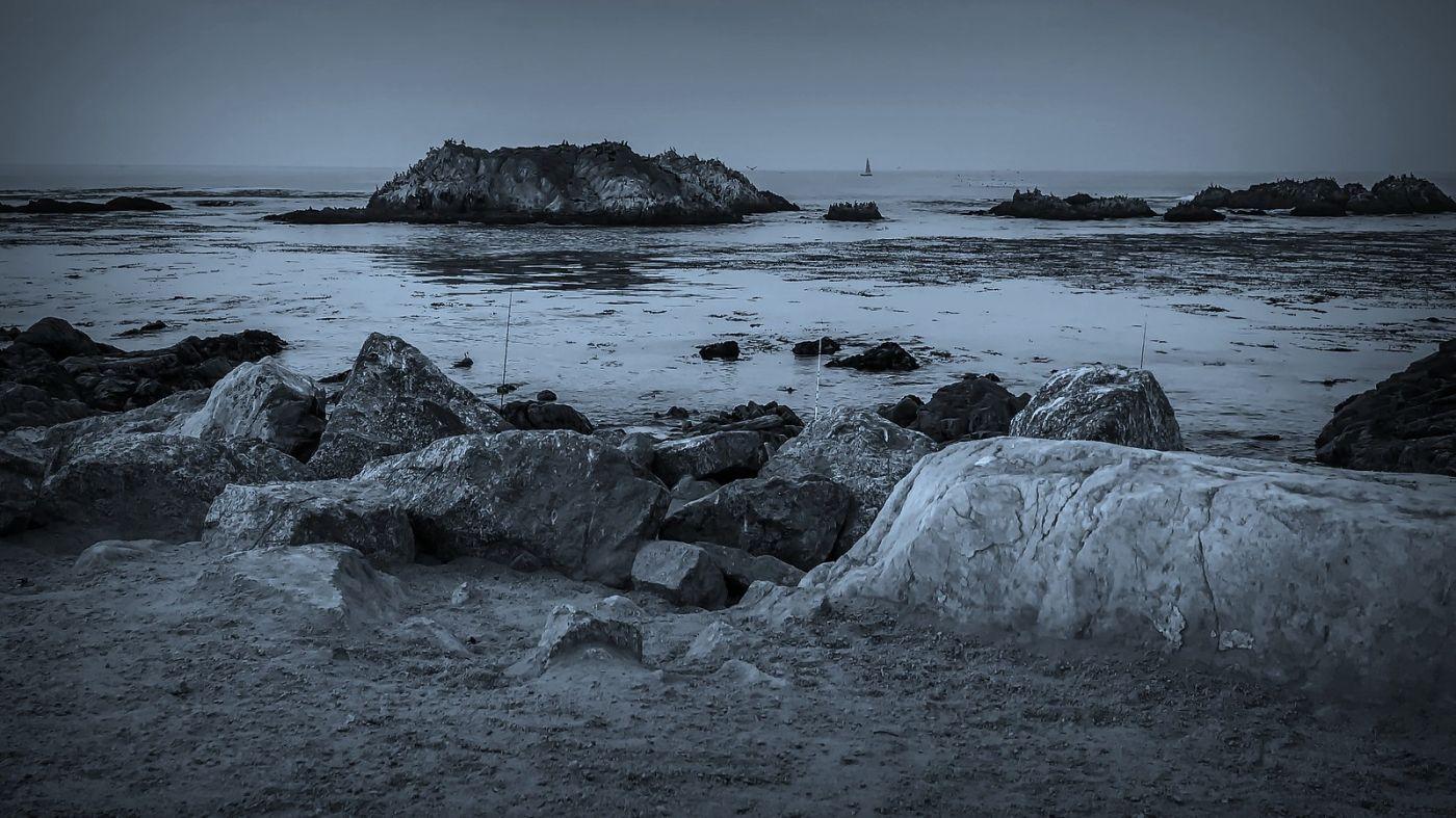 加州17英里,海边的奇形礁石_图1-12