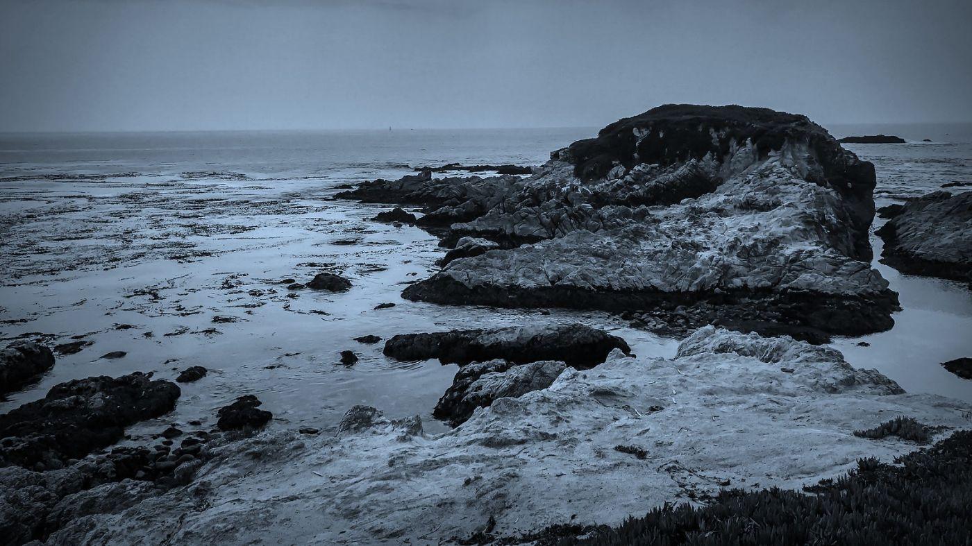 加州17英里,海边的奇形礁石_图1-17